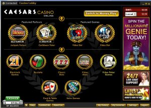 how to play online casino caesars casino online